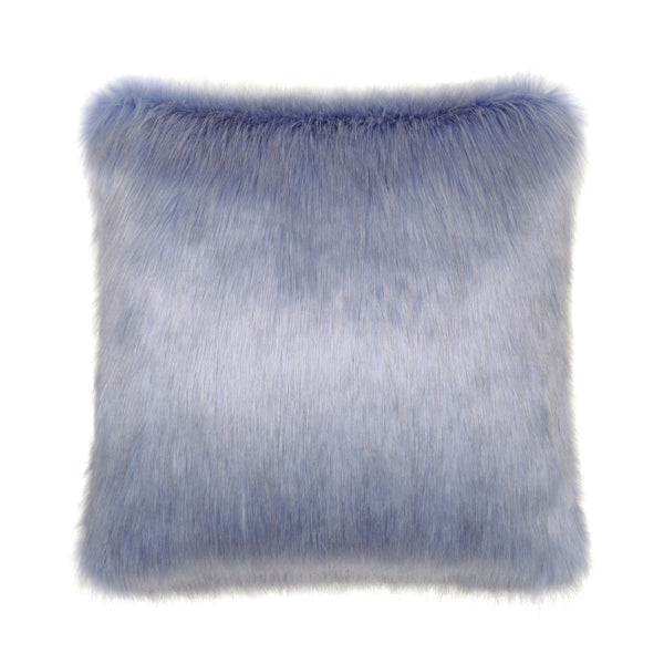 Cornflower Faux Fur Cushion