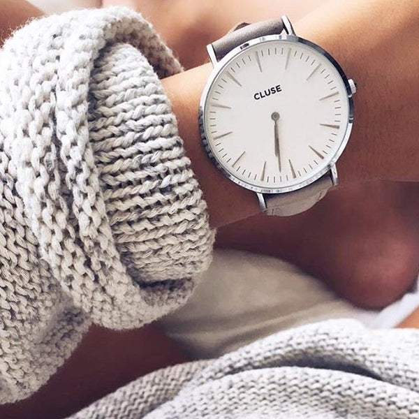 Grey La Boheme Silver CLUSE Watch