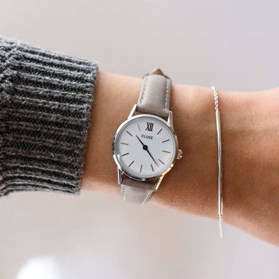 Grey La Vadette Silver CLUSE Watch