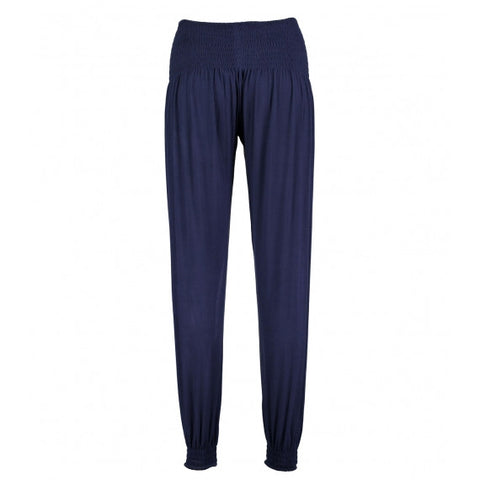 Blue Navy Lounge Jersey Trousers