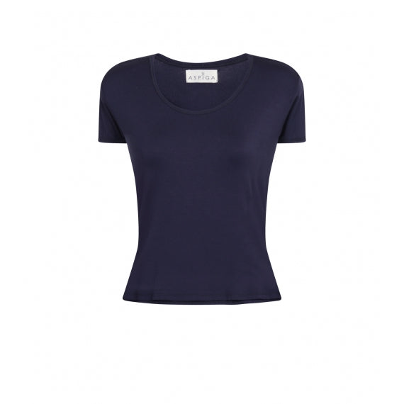Blue Navy Short T-Shirt