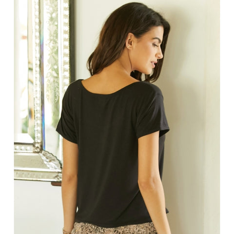 Black Short T-Shirt