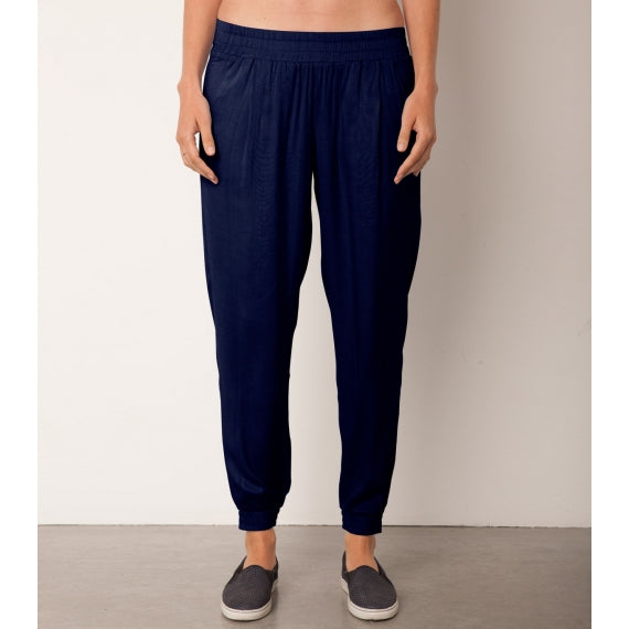 Blue Navy Ariana Jogger Trousers