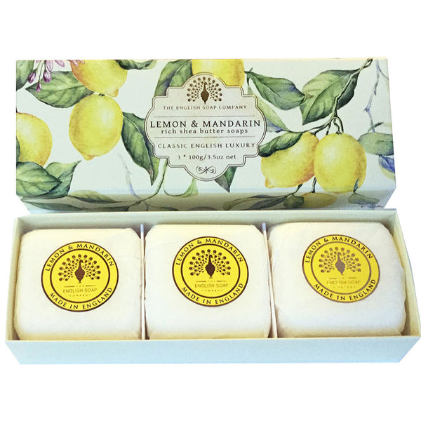 Lemon & Mandarin Gift Box Hand Soap