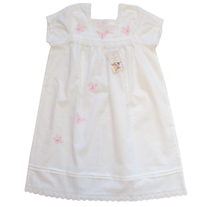Butterflies Cotton Nightdress
