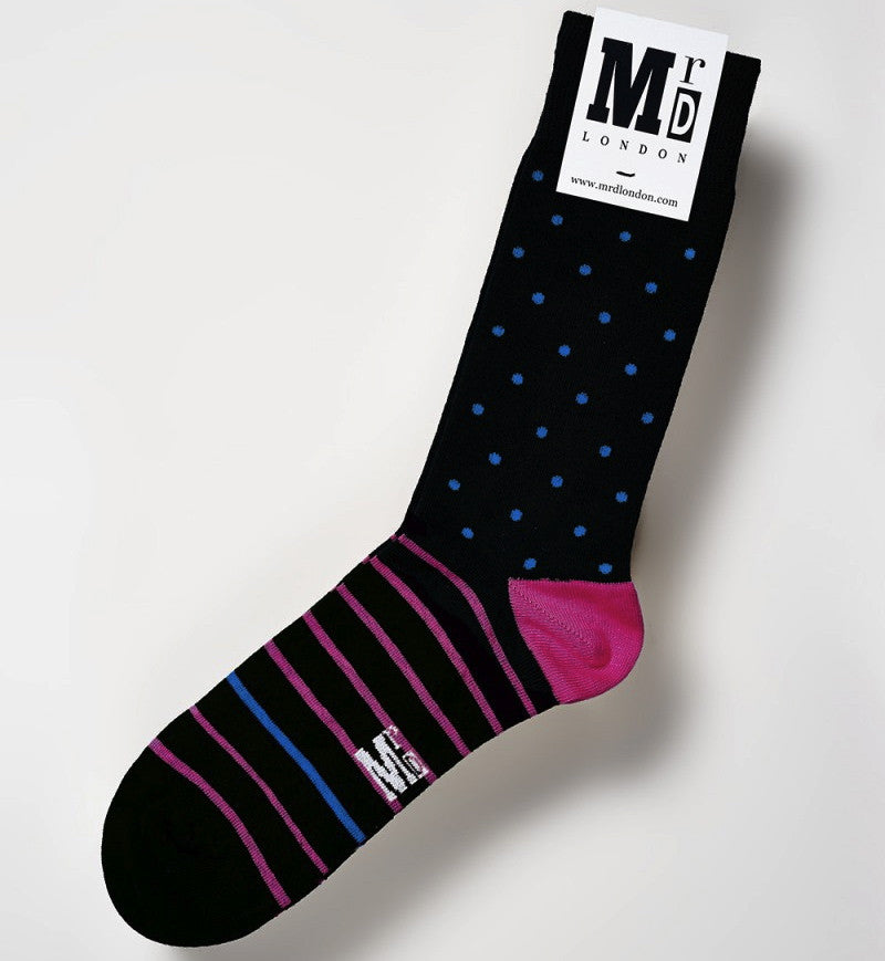 Powder Spot Mens Socks