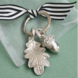 Acorn Pewter Key Ring