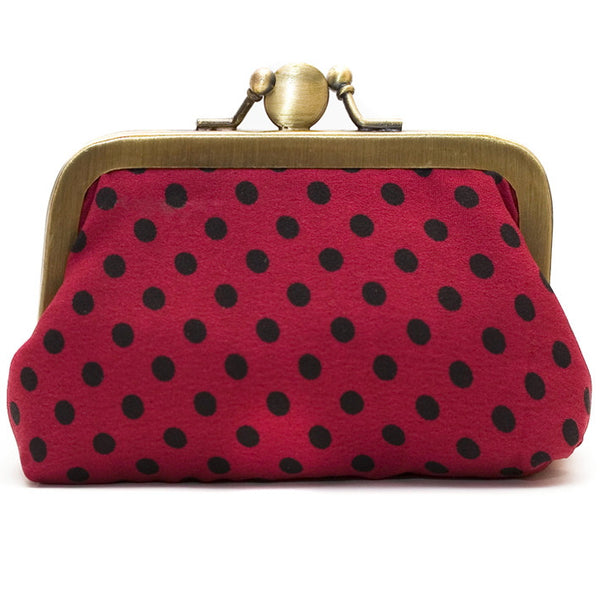 Cherry Polka Dot Purse