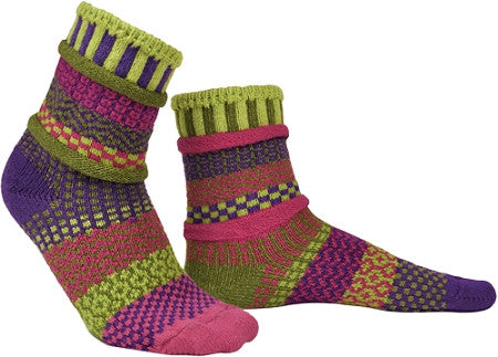 Aurora Mismatched Knitted Socks