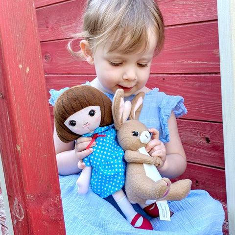 Belle & Boo Soft Toy Set
