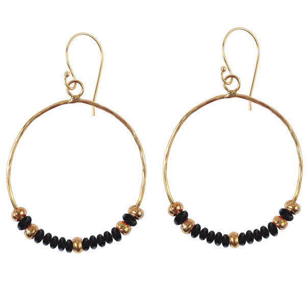 Black Hippy Chic Earrings