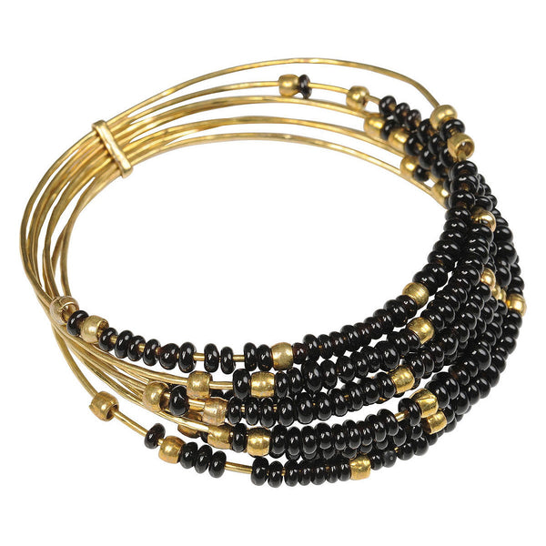 Black Semainier Bangle