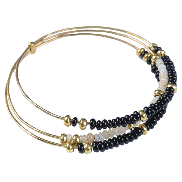Black Trilogy Bangle