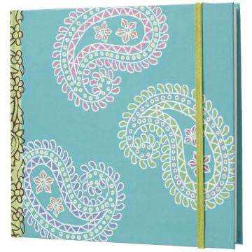 Blue Paisley Sketchbook
