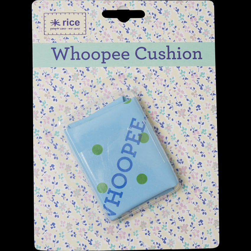Blue Spotted Whoopee Cushion