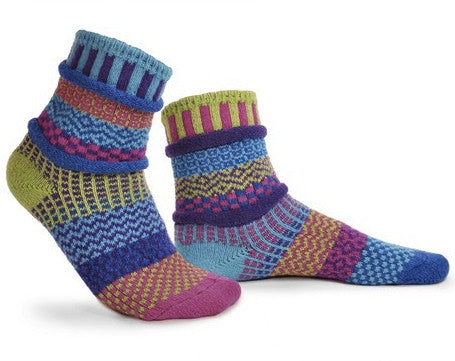 Bluebell Mismatched Knitted Socks