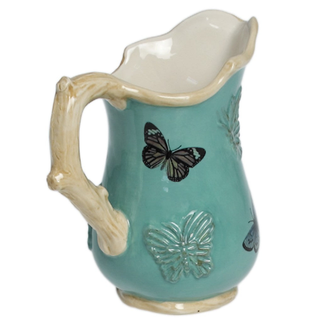 Botanical Butterfly Jug