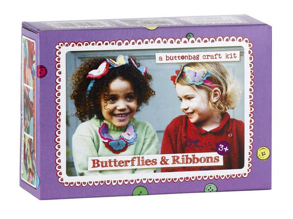 Butterflies & Ribbons Necklace Kit
