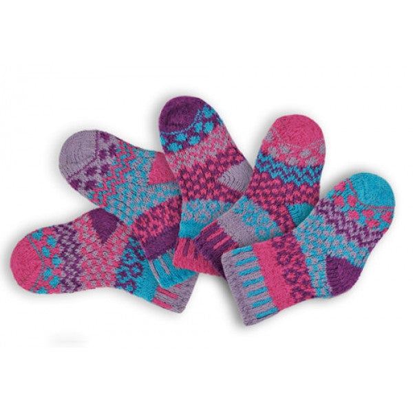 Butterfly Mismatched Knitted Baby Socks