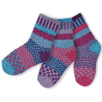 Butterfly Mismatched Knitted Kids Socks