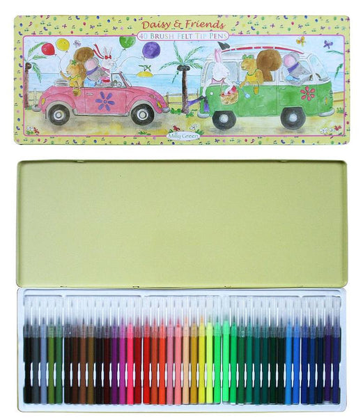 Campervan 40 Felt Tip Pen Set