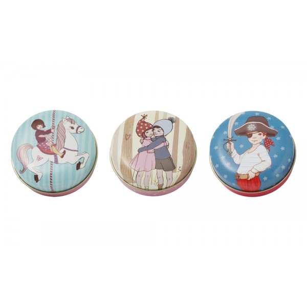 Belle & Boo Carousel Pocket Tin Set