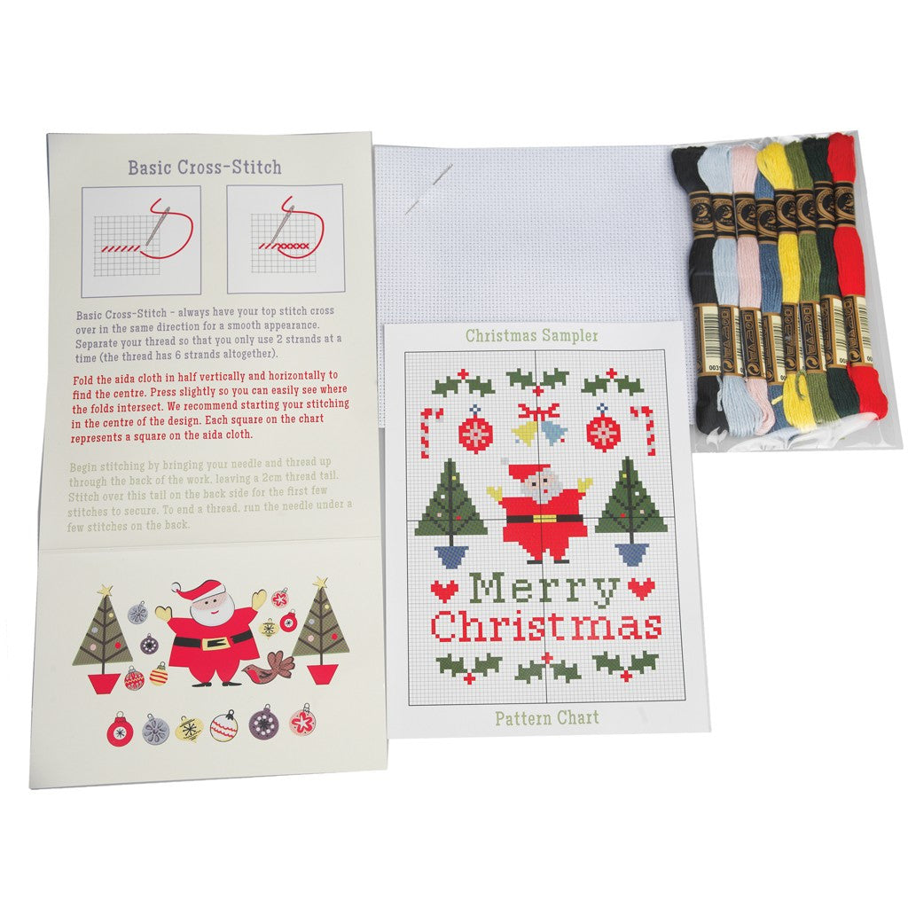 Christmas Carnival Cross Stitch Kit