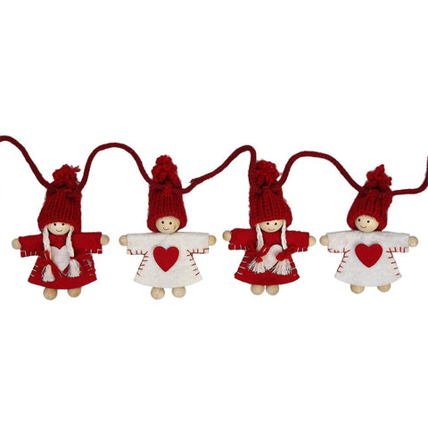 Christmas Friends Garland