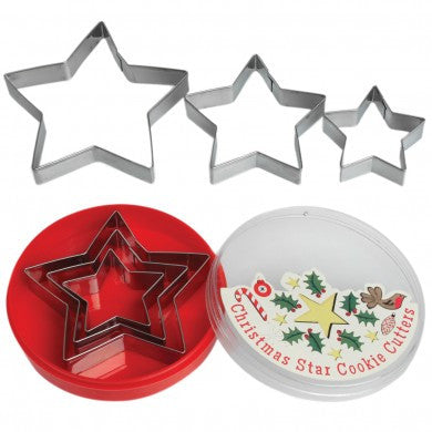 Christmas Star Cookie Cutter Set