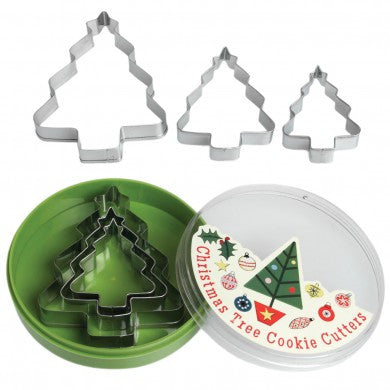 Christmas Tree Cookie Cutter Set
