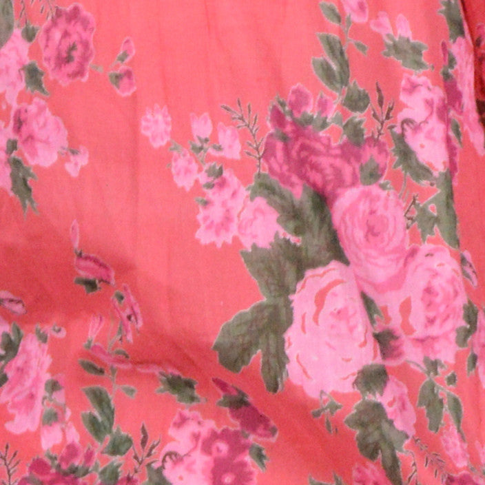 Coral or Ultramarine Vintage Rose Skirt