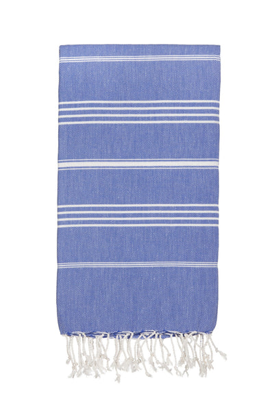 Cornflower Blue Hammamas Cotton Towel/Wrap