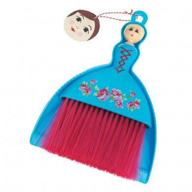 Dolly Dustpan And Brush