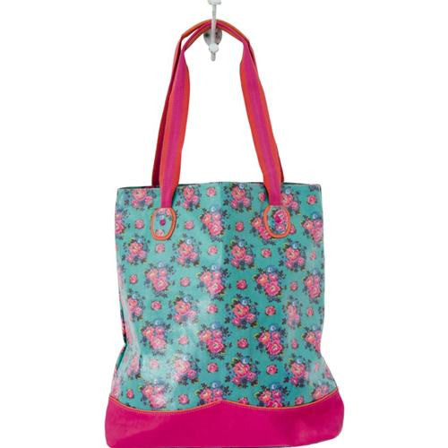 Shopper Bag in Dutch Rose Print