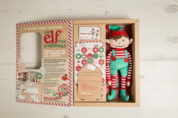 Elf For Christmas Girl With Magical Reward Kit - Multi-Award Winner!