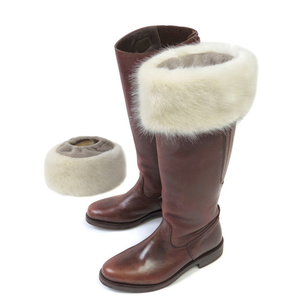Ermine Faux Fur Boot Toppers