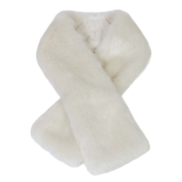Ermine Faux Fur Tippet Scarf