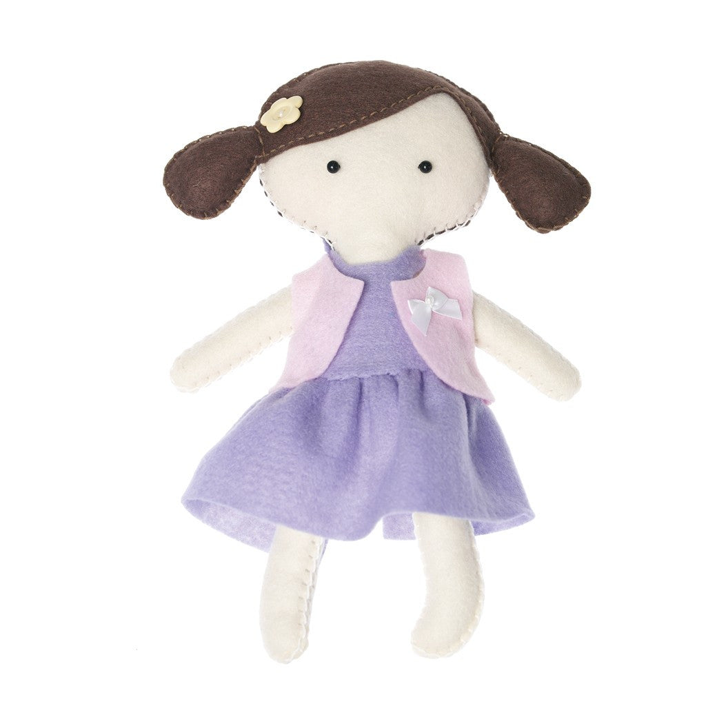 Make Your Own Felt Craft Rosie Doll