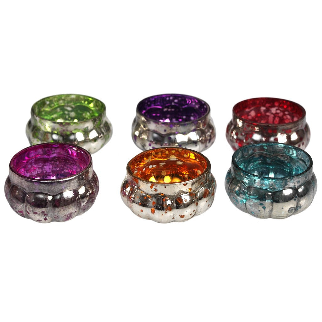 Set of 6 Floating Tealight Holders