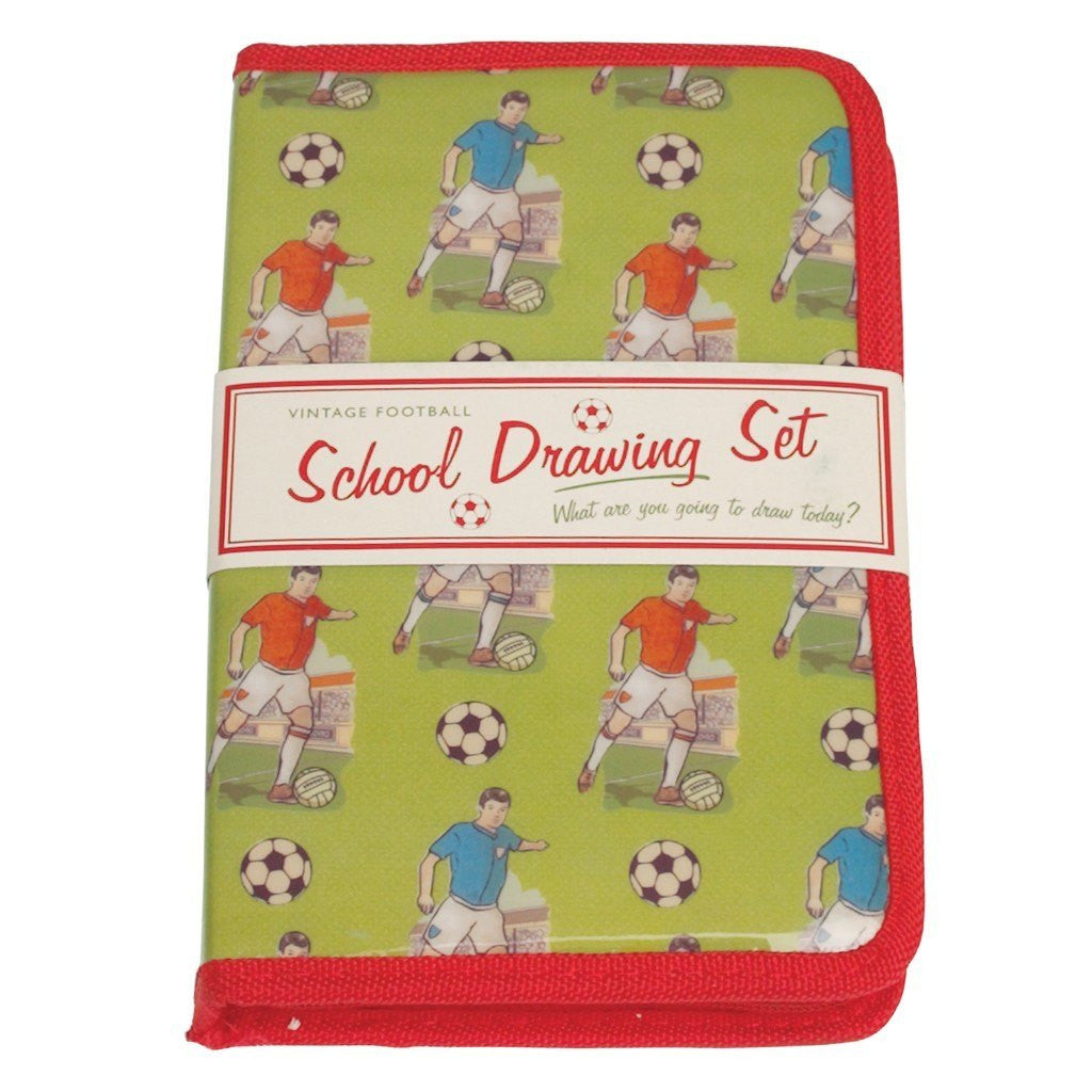 Football School Drawing Set