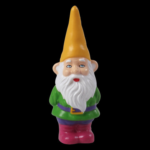 Gnome Candle with Orange Hat