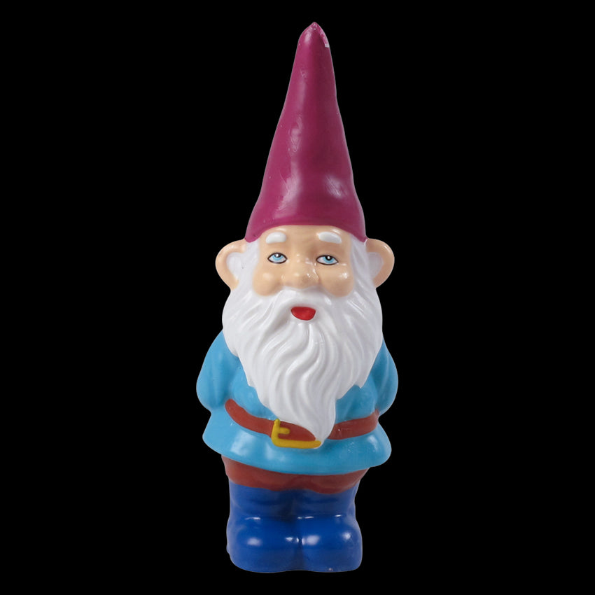 Gnome Candle with Red Hat