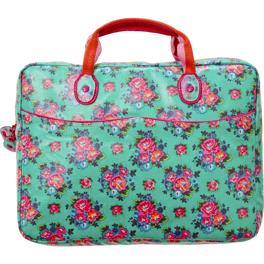 Laptop Bag in Dutch Rose Print