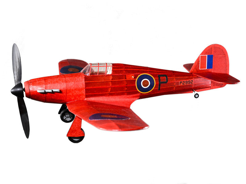 Red Hawker Hurricane Model Kit