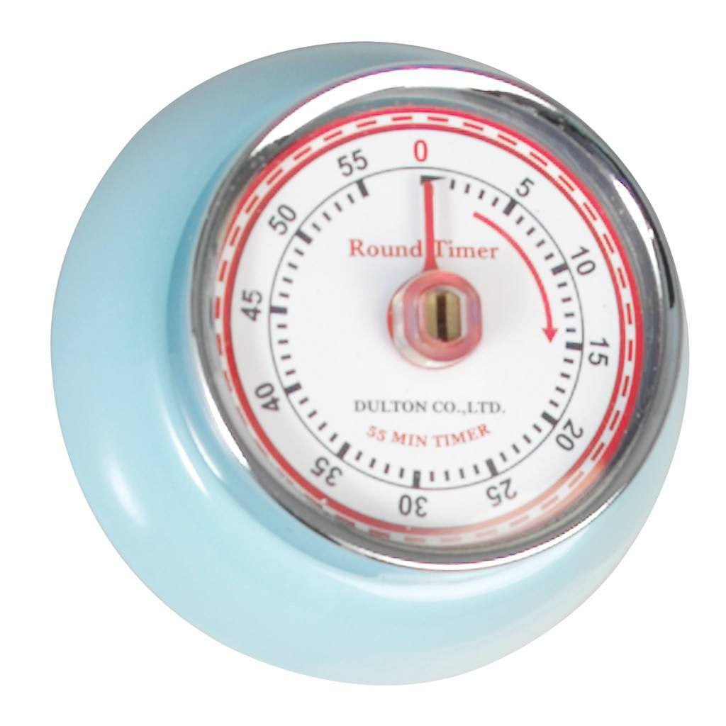 Blue Vintage Magnetic Kitchen Timer