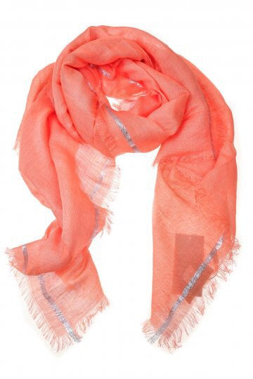 Orange Luella Scarf