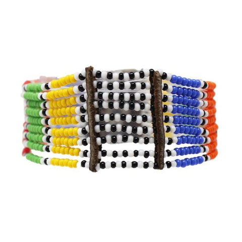 Multi Kitui Beaded Maasai Bracelet