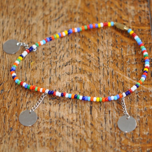 Multi Bangle Maasai Beaded Anklet