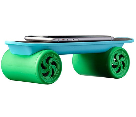 Blue/Green Tinc Wireless Skateboard Speaker