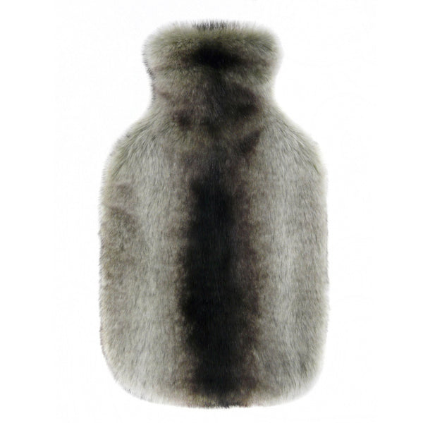Chincilla Faux Fur Hot Water Bottle